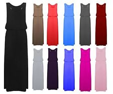 Unbranded Viscose Patternless Maxi Dresses for Women