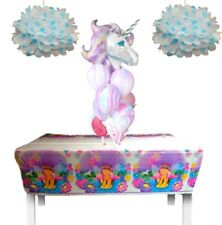 Unicorn Fairy Princess Table Cloth - Girls Party Supplies-Kids Birthday Parties