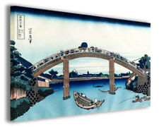 Quadro moderno Katsushika Hokusai vol VIII stampa su tela canvas arredo poster