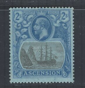 Ascension GV 1924-33 sg19 2s LMM