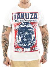 Clown Yakuza Herren-T-Shirts mit Rundhals-Ausschnitt