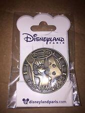 Disney Pin DLP DLRP Paris Ratatouille Remy Medal Medallion Coin Gold New On Card