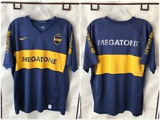 Boca Juniors 2007/08 Home Soccer Jersey Large Nike