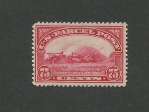 1913 United States Parcel Post Stamp #Q11 Mint Lightly Hinged VF Original Gum