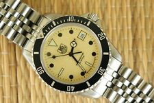 HONEST TAG HEUER 1000 STAINLESS NIGHT DIVER DEPLOYMENT BRACELET WATCH U SAVE $$$