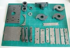 Industrial Shredder from Precious Plastic - Laser Cut Steel Parts