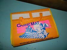Vintage Ideal Beach & Camp Mat w/Inflatable Headrest