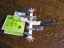 "Silvestri 2000 Karen Rossi Fanciful Flights ""DOCTOR"" Ornament w/ Tags & Charms"