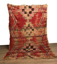 Azilal vintage hallway rug .Moroccan Berber rug vintage Runner traditional tapis