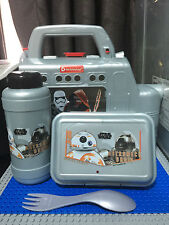 DISNEY STAR WARS KIDS SCHOOL LUNCH BOX WATER BOTTLE  SET - BRAND NEW!!!