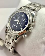 Orologio uomo Philip Watch Sunray Chrono Blue Silver new