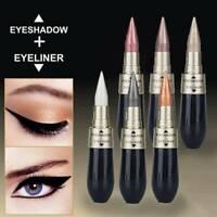 6 Colours Novel Eyeliner Eyeshadow Eye Makeup Pencil Metallic Shimmer UK