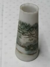More details for opal wirths glass vase hindhead waggoners well signed m.w 11cm high
