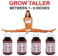 Bone Growth Pills SAFELY BE TALLER 4 Month Course LIMITED OFFER PRICE $79.99