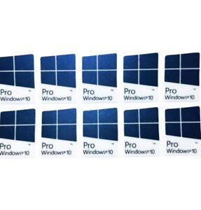WINDOWS 10 PRO Case AUFKLEBER ¦ STICKER | 10x