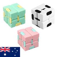 1/3PK Fidget Infinity Cube Sensory Autism Anxiety Stress Relief Toys AU STOCK