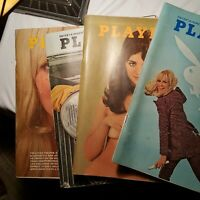 VINTAGE 1969 PLAYBOY MAGAZINE Lot March April May August Cosby Hooper Sheffield