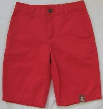 NEW Boy's Arizona Chino Shorts Adj Waist Choose Color Size 5, 6, 8, 10, 16, 16H