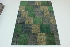 Modern Patchwork Stone Wash Antik Look Perser Teppich Orientteppich 3,00 X 2,10