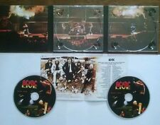 ACDC AC/DC Live CD digipak 2CD Collector's Edition Remaster EPIC 80215