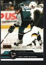 MIKE RICCI 2001/02 PACIFIC #343 PREMIERE DATE SHARKS SP #11/45