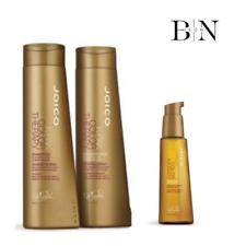 JOICO K-PAK COLOUR THERAPY SHAMPOO & CONDITIONER 300ML AND RESTORATIVE OIL 100ML