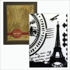 Couture Creations embossing folders PARIS folder CO723700 Travel,Eiffel