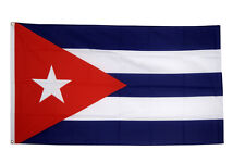 More details for cuba giant flag 8 x 5 ft -  massive huge cuban national country