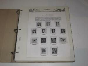 AUSTRALIA  1966-1992  HINGELESS SEVEN SEAS PAGES inc album BINDER