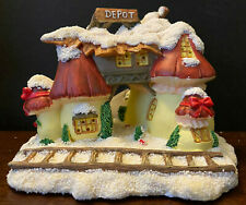 Vintage Charming Tails Squashville Lighted Village Mushroom Depot 87/563