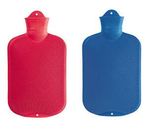 Double Ribbed 2.0L Plasticiser Free Sänger Hot Water Bottle