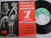 JUAN CATALANO Ce Jour La  FRANCE EP 1950s