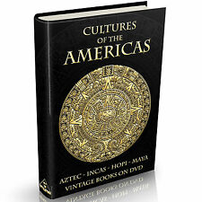 279 Cultures of the Americas Books on DVD Native American Indians Apache Navajo