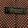 Charvet Place Vendôme France Tie woven  100% Silk Neck Tie