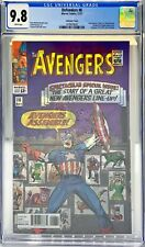 DEFENDERS #6 CGC 9.8 - LENTICULAR COVER / AVENGERS 16 COVER HOMAGE