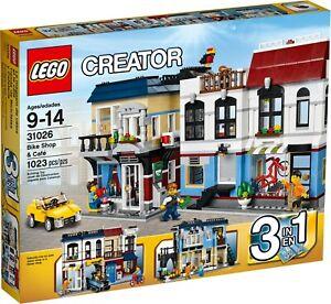 LEGO 31026 Creator 3 in 1 - Bike Shop & Cafe - Retired Brand New