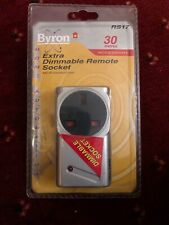 Byron Dimmable Remote Control Socket RS17