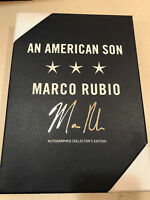 Marco Rubio signed autograph An American Son Limited Edition book