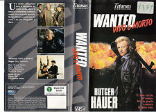 WANTED - VIVO O MORTO (1987) VHS