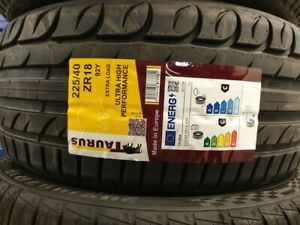 NEW TAURUS BY MICHELIN TYRES 225/40 ZR18 XL 92Y 225 40 18 A1 UHP 2254018 C+C