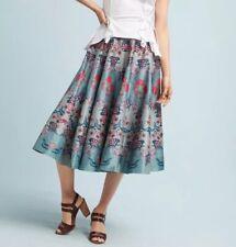 $228 Anthropologie by Siddhartha Bansal Womens Size 4 Saanvi Floral Skirt NWT