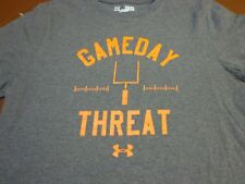 Under Armour Youth Medium Loose Heat Gear T-Shirt - GAME DAY THREAT  Gray Z8