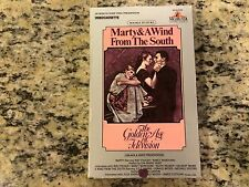 MARTY + A WIND FROM THE SOUTH RARE BIG BOOK BOX VHS! 1 NOT ON DVD! CLASSICS HTF