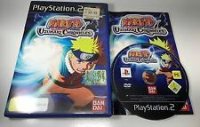 SONY PS2 PLAYSTATION 2 GAME | NARUTO - UZUMAKI CHRONICLES 1 | COMPLETE