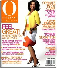 O The Oprah Magazine - 2005, April - A Healthier You At Every Age, Ex-Sex Kitten