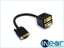 1 ft VGA to 2x VGA Video Splitter Cable – M/F
