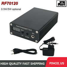 0.5W/5W Digital Wireless Headphone Stereo Fm/Mp3 Transmitter Audio Radio Pll