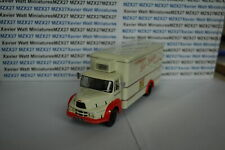 Truck Vintage N° 98 Unic Puymorens« Van Long Fridge » 1/43 IXO Without On Bo