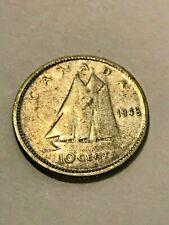 1946 Canadá Diez Centavos de Plata Fina #20301