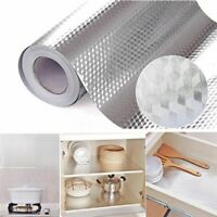 Waterproof Oil proof Self Adhesive Aluminum Foil Wall Sticker Home Kitchen Decor